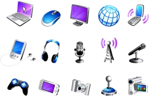 modern-media-3d-icon-set